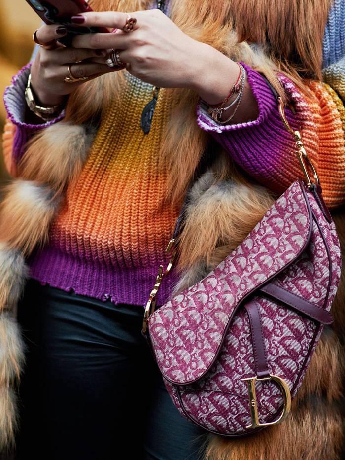 Dior Saddle bag - photo by Style Stalker