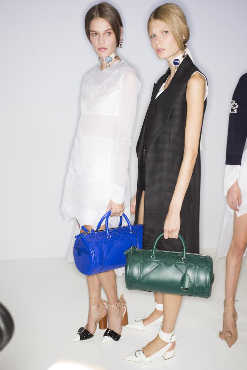 Dior ss16 barrel bags