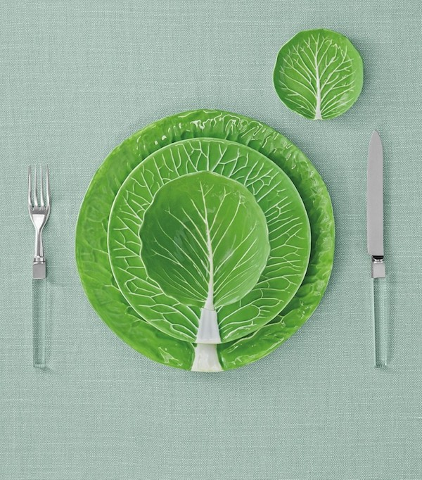 Dodie Thayer Tory Burch lettuce ware 6