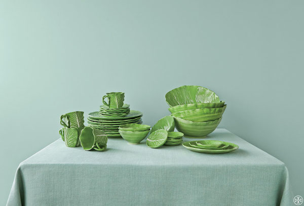 Dodie Thayer Tory Burch lettuce ware
