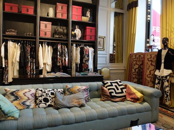 Dries van Noten store in Paris