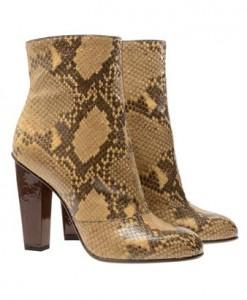 Dries Van Noten python boots