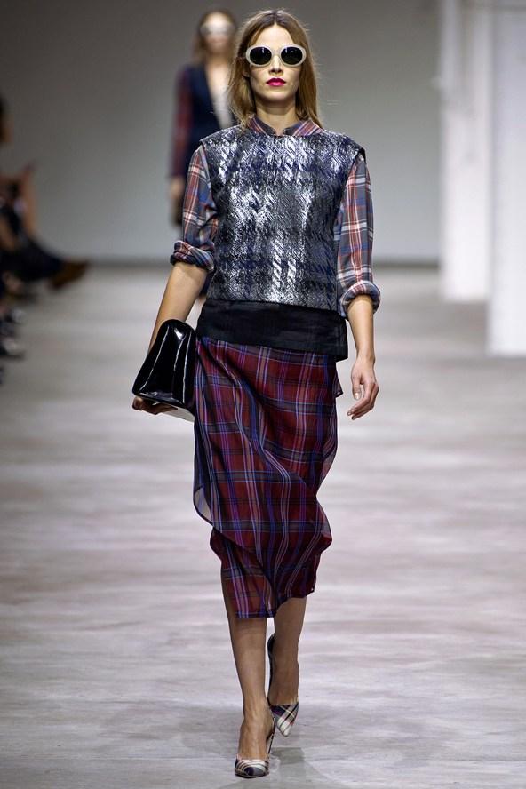 Dries-Van-Noten-ss13-sheer-plaid-skirt
