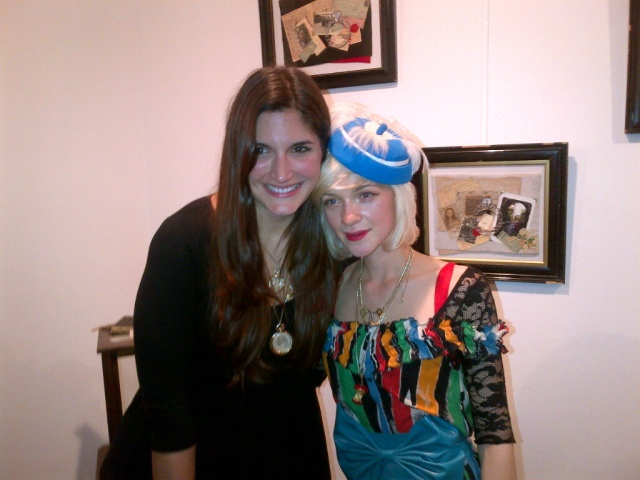 Emily Johnson Fashion Foie Gras and Jessica de Lotz