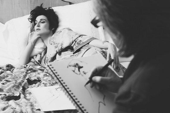 Erin O'Connor by David Downton