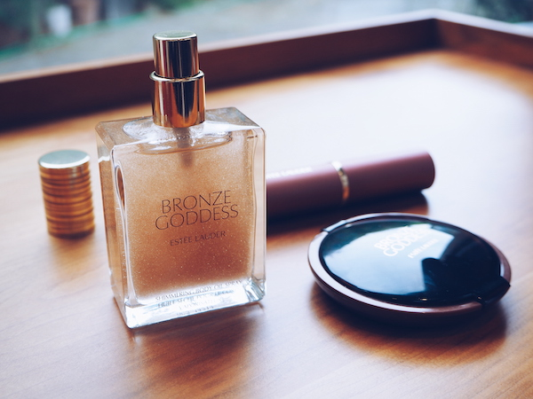 Estee Lauder Limited Edition Bronze Goddess Shimmering Nudes Collection