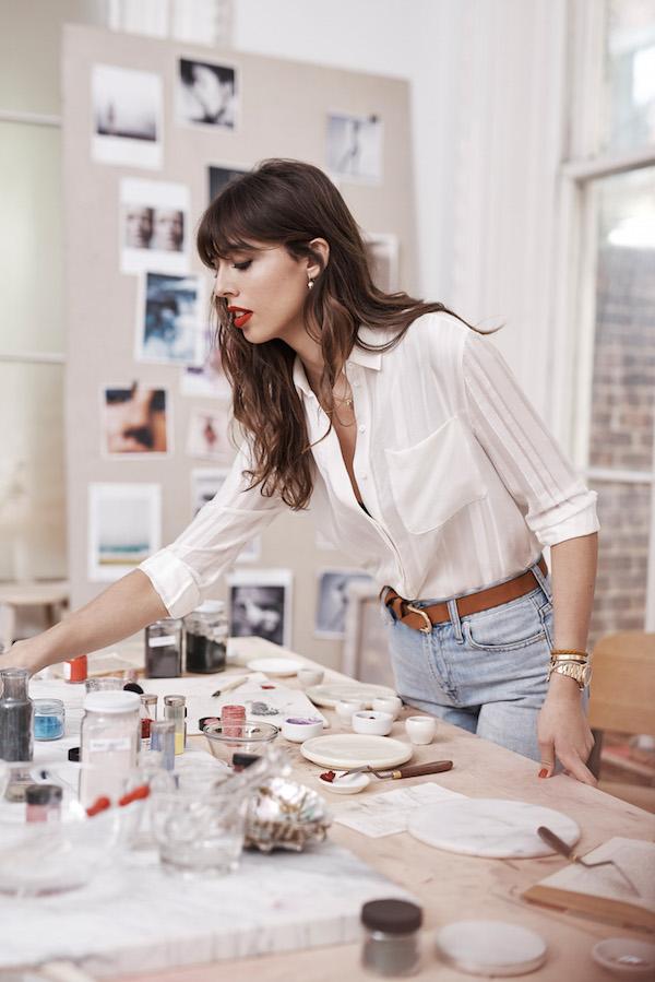 Estee Lauder new Global Beauty Director Violette