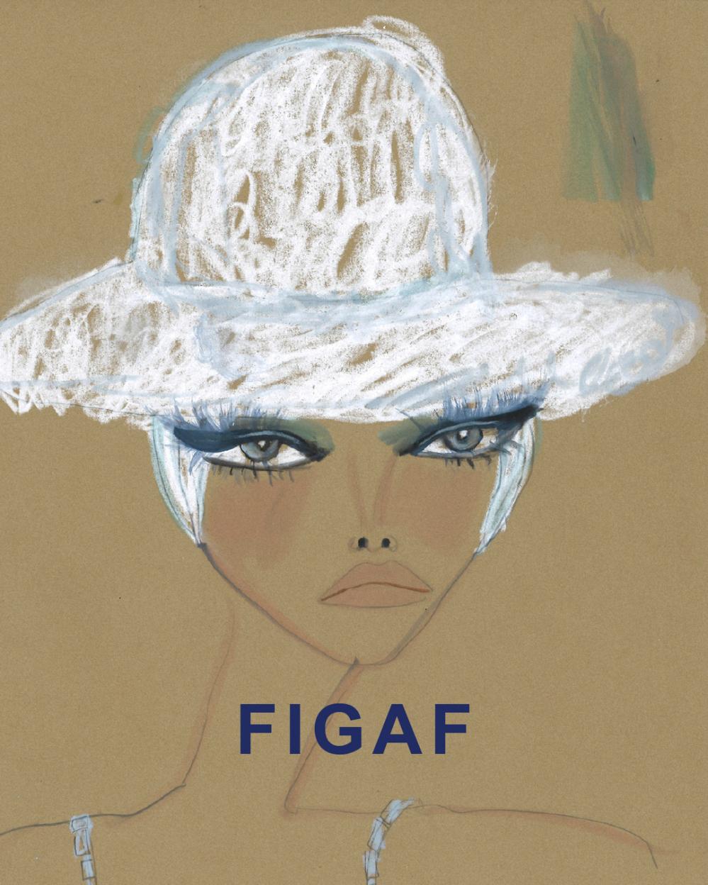 FIGAF Fashion Illustration Gallery Art Fair Blair Breitenstein