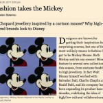 Disney and Louis Vuitton to collaborate?