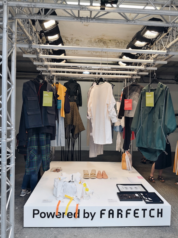 Graduate Fashion Week 2019 Farfetch Conscious Design Hub