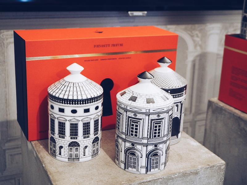 Fornasetti Profumi scented candle set