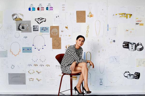 Francesca Amfitheatrof Tiffany design director. Photo by Christopher Sturma