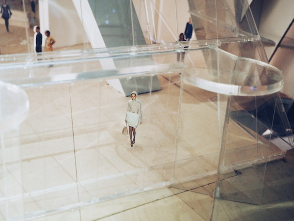 Frank gehry model of the fondation louis vuitton