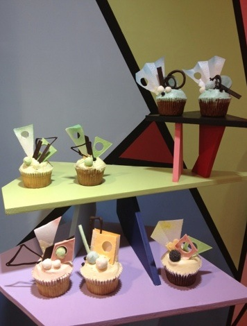 Fred Butler Memphis cupcake 2