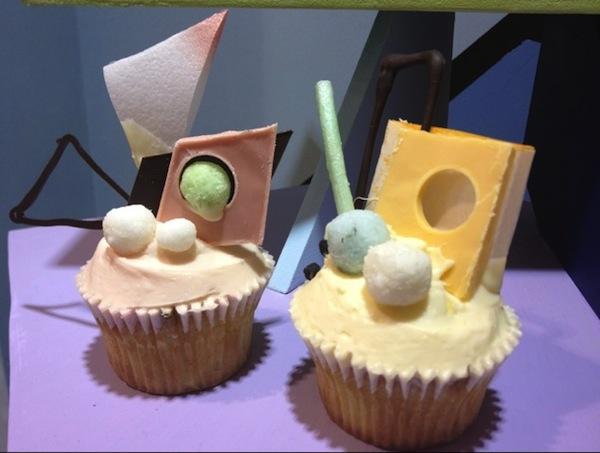 Fred Butler Memphis cupcake