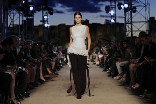 Givenchy New York Fashion Week Wall street journal - Photo by Peter Foley