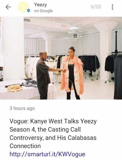 New York Fashion Week Google