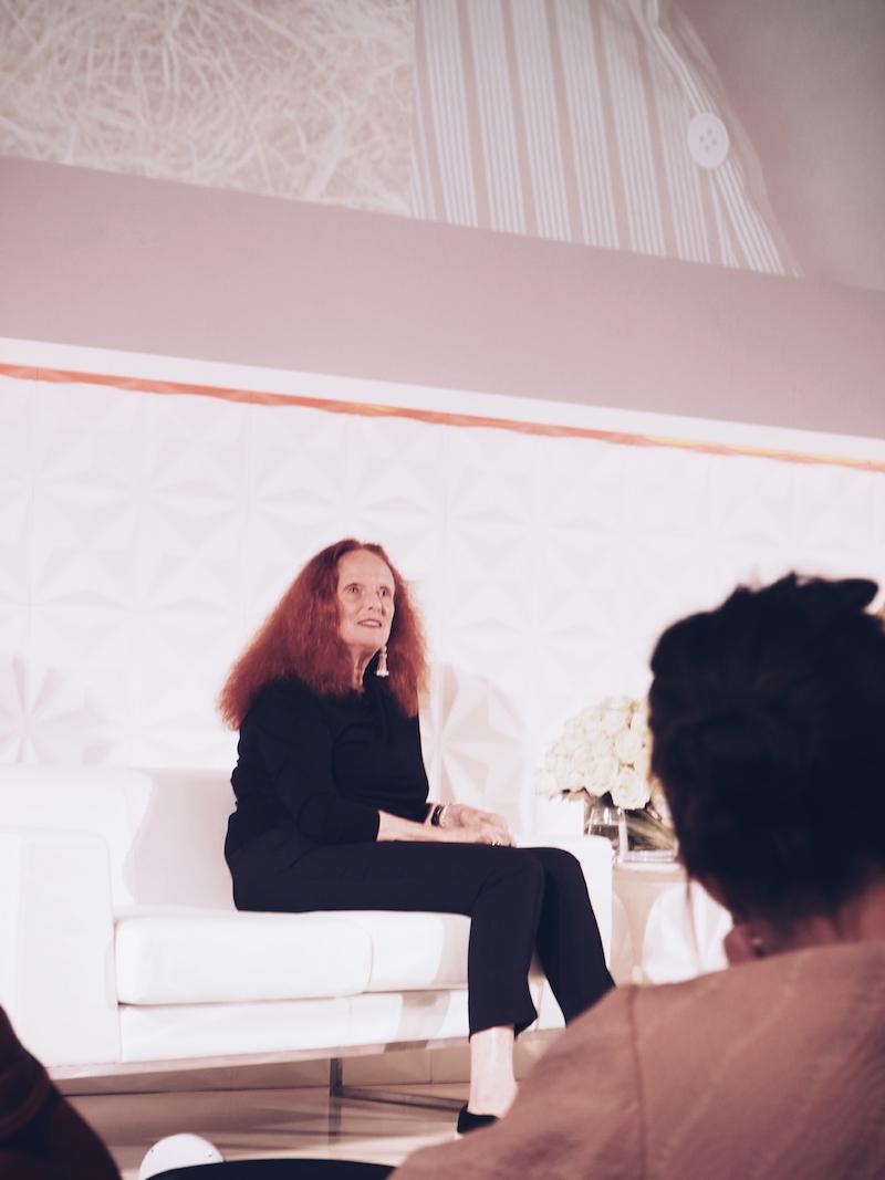 Grace Coddington interviewed at Vogue Festival 2016