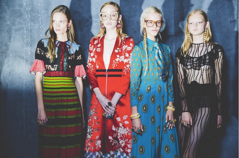 Gucci ss16 by Kevin Tachman for Vogue