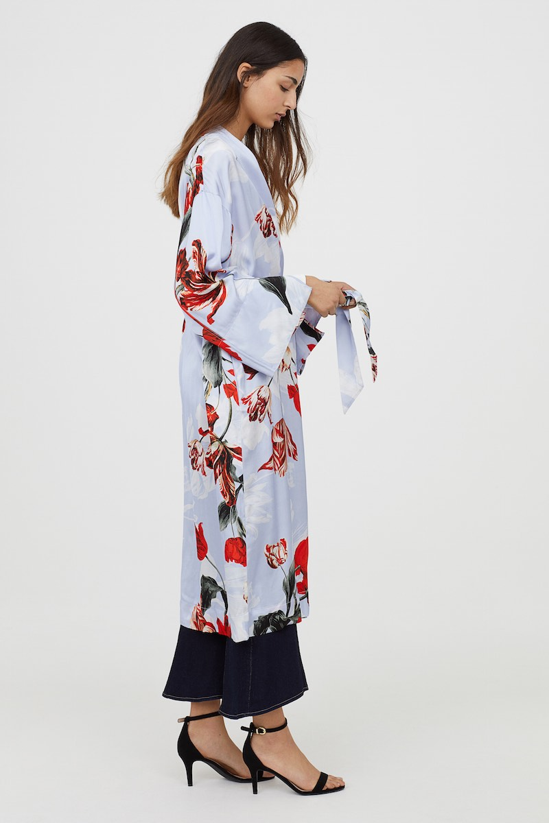 H&M LTD Collection modestwear floral tunic
