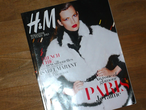 H&M -magazine-COVER