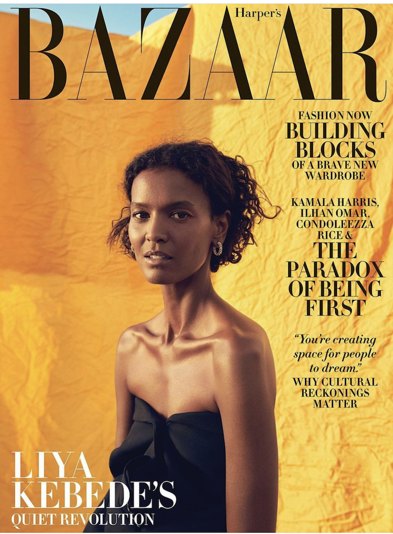 Harper's Bazaar relaunch edited by Samira Nasr