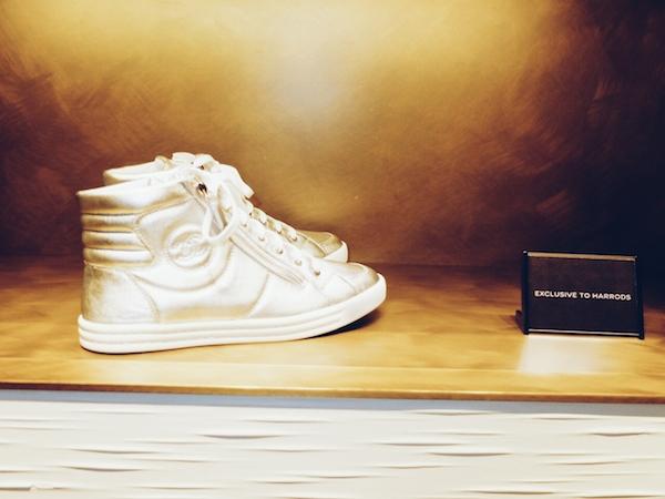 Harrods-Shoe-Heaven-Chanel-Silver-Lining
