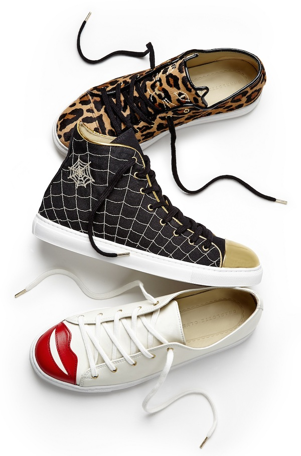 Harvey Nichols- Charlotte Olympia launches sneaker collection