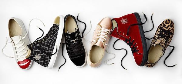 Harvey Nichols- Charlotte Olympia sneakers