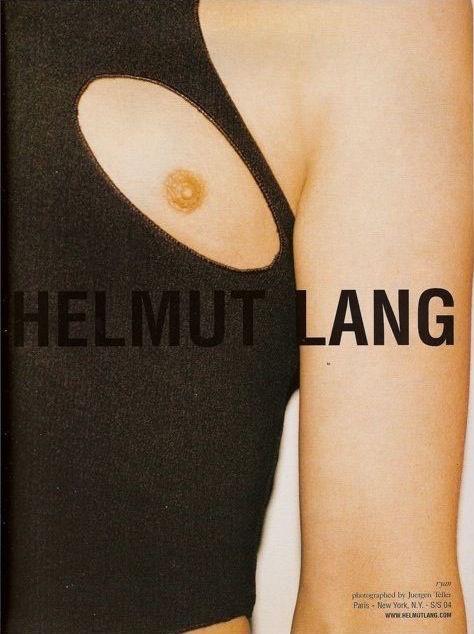 Helmut Lang ad campaign