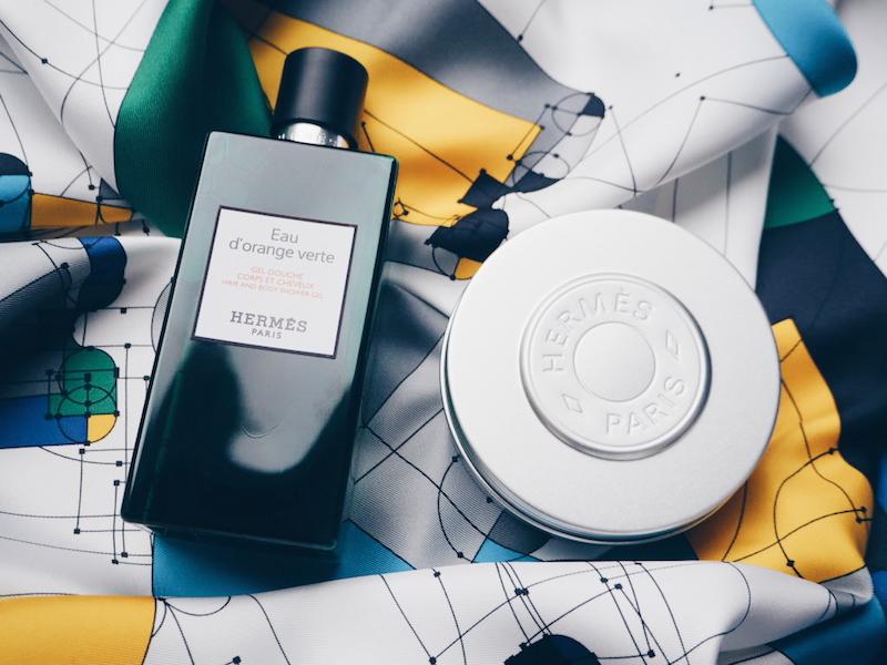 Hermes Le Bain shower gel and moisturising balm