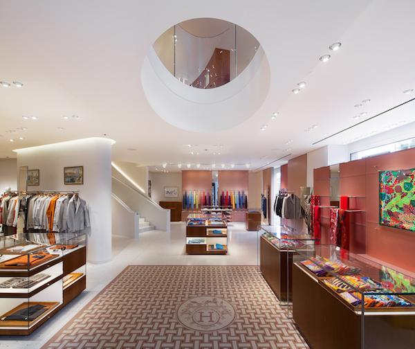 Herme?s New Bond Street Store - Entrance Ground Floor