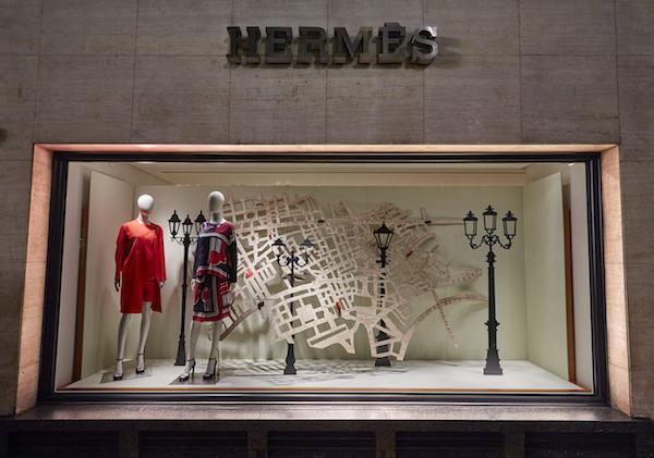 Herme?s New Bond Street Window Women's