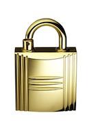 Hermes-padlock