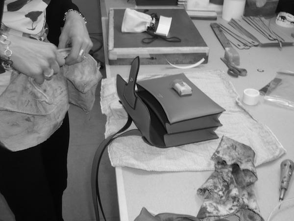 Hermes handbag workshop Pantin