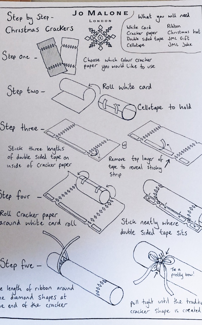 How to make a Christmas cracker instructions