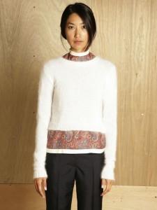J W Anderson angora sweater