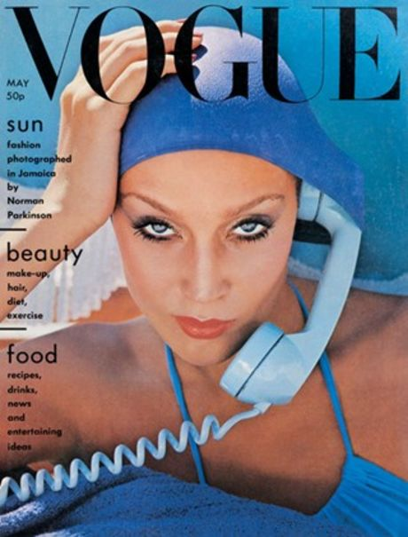 Jerry hall By norman Parkinnson Vogue