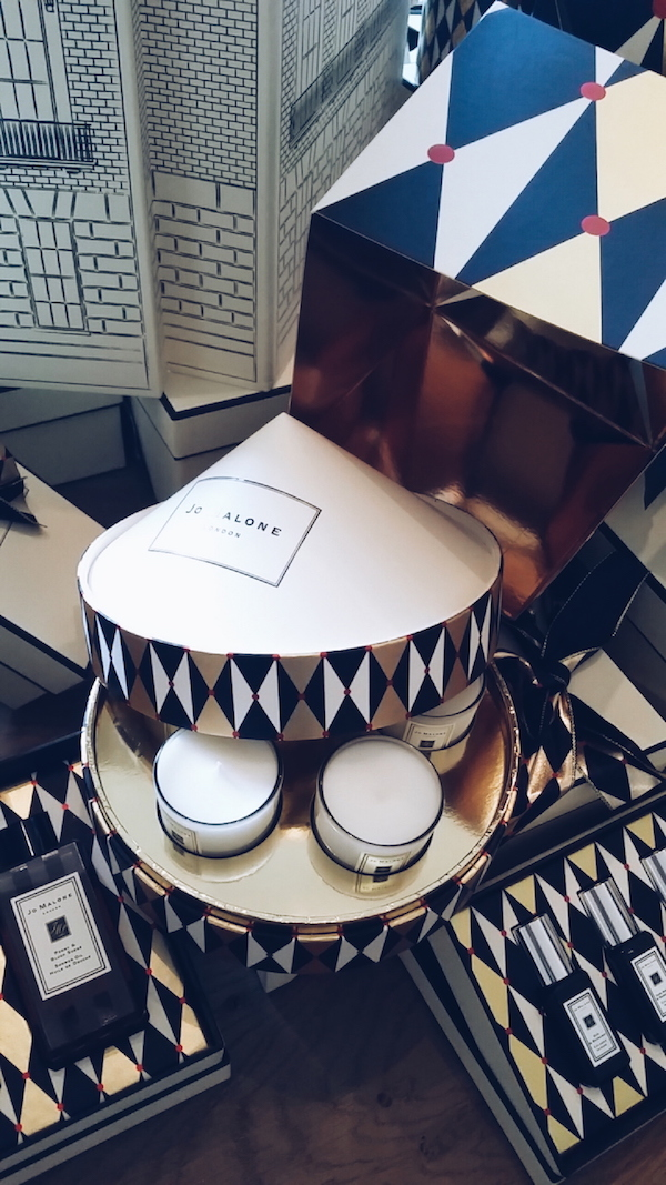 Jo Malone Christmas 2016 collection candle set