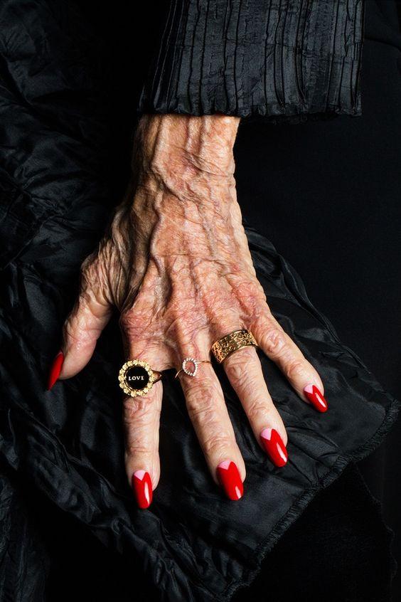 Karen Walker jewellery shot by Advanced Style photographer Ari Seth Cohen