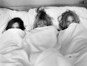Kate Moss, Daria, Lara Bruece Weber W Magazine