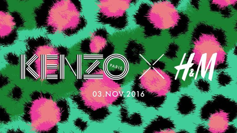 Kenzo X H&M collaboration launches 3rd November 2016