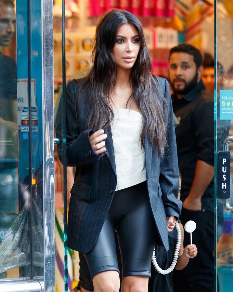 Kim Kardashian in Raf Simons