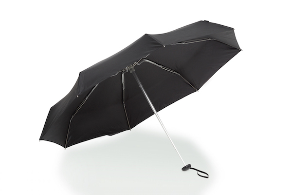 How to dress for inclement weather - the Knirps X1 folding umbrella