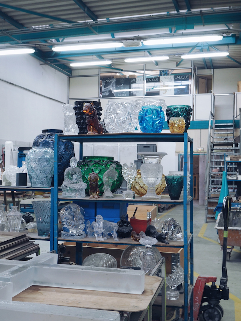 Lalique factory cold working section