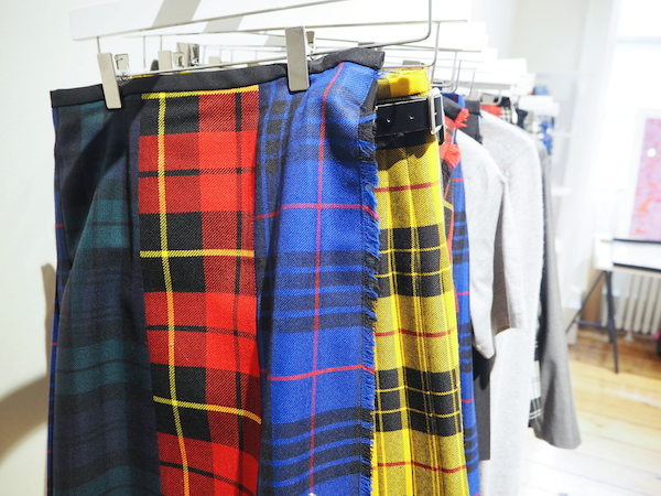 Le Kilt Sam McCoach aw15 London Fashion Week