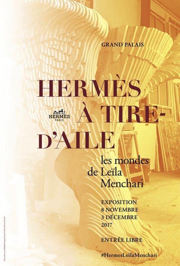 Leila Menchari Hermes exhibition