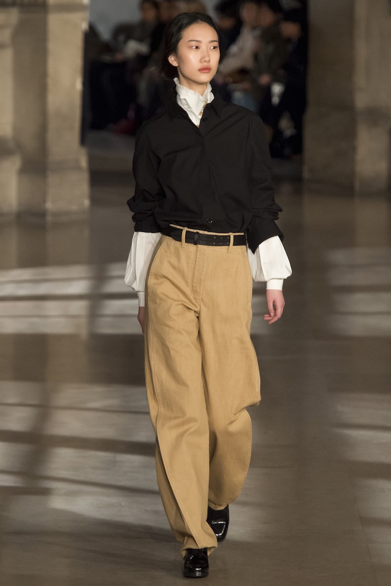 Lemaire chinos aw16