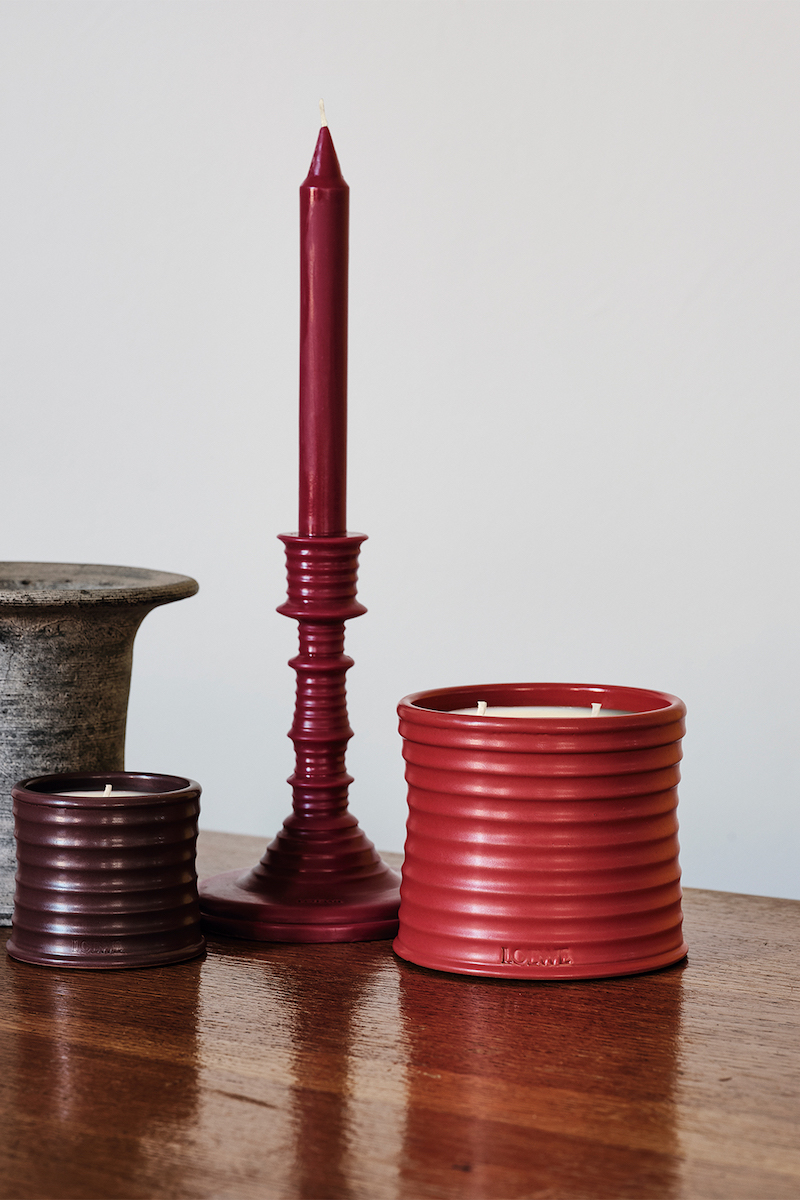 Loewe ceramic candles