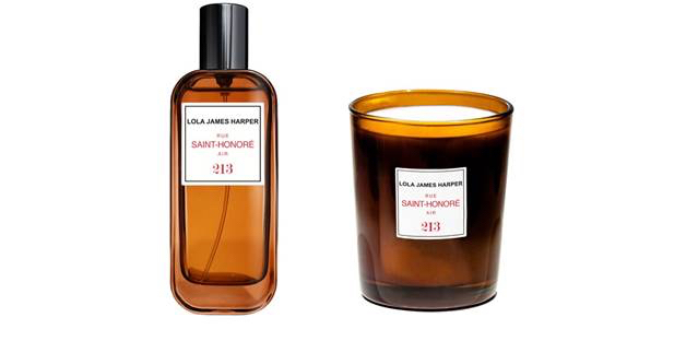 Lola James Harper Colette concept store candle and room scent